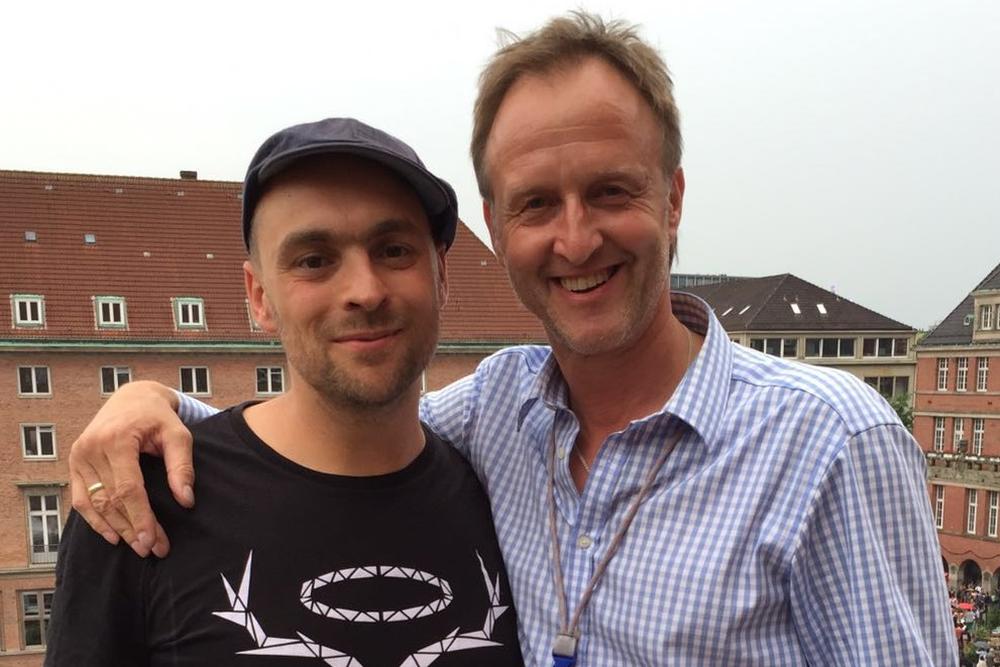 Max Mutzke und Stephan Vollbehr