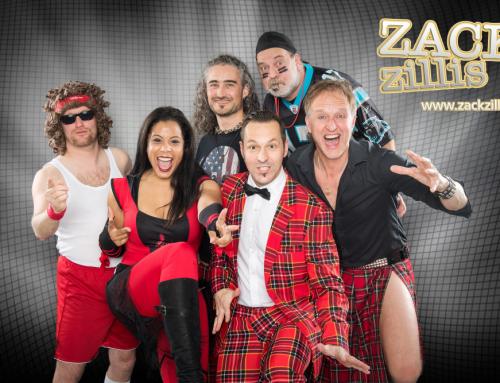 Unsere Exklusiv Partyshowband Zack Zillis